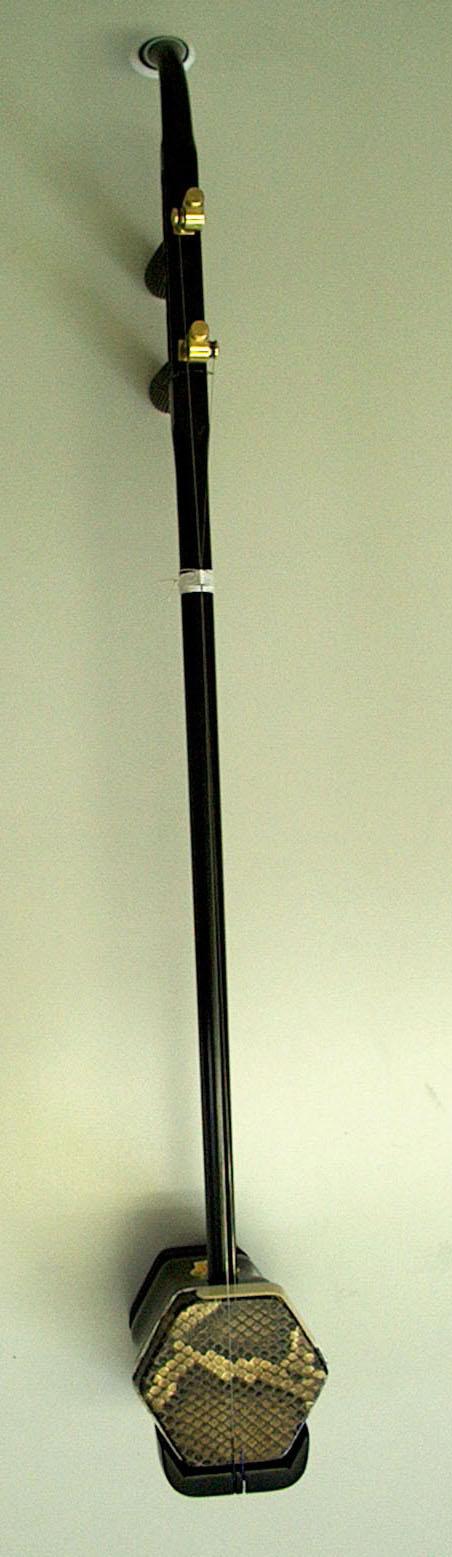 黒檀、銅軸二胡